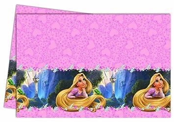 Disney Rapunzel Mantel Mantel Mesa De Fiesta: Amazon.es ...