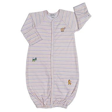 d8f613ea370 Amazon.com  Kissy Kissy Baby Boys Born To Run Converter Gown-Newborn ...