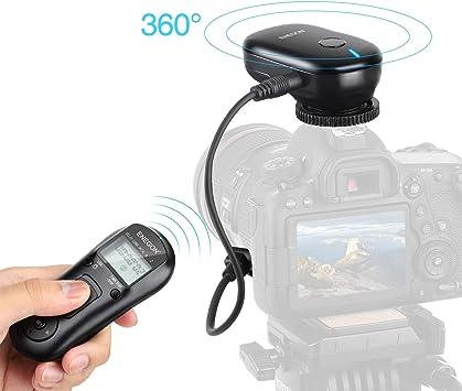 Temporizador cable de liberación del obturador para Canon EOS 7D2 5D2 5D3 5D Mark II 7D Mark II III