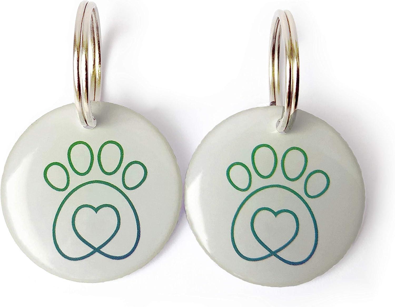 confezione da 2 Compatibile con Petmate Cat Mate selective 305 306 355 356 360 Microchip Rfid collare Tag Disc Key