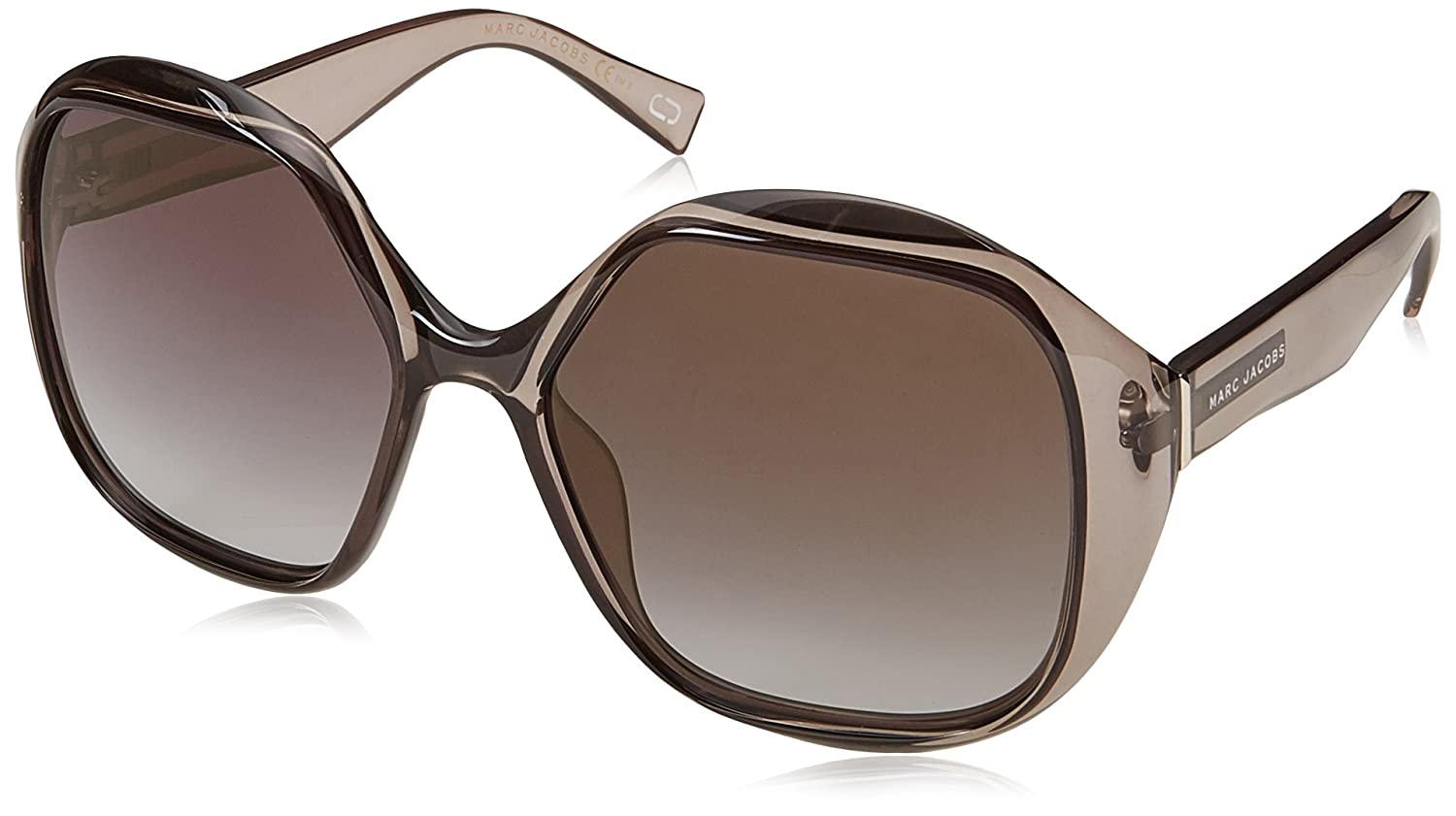 54ede6b4f45 Amazon.com  Marc Jacobs Women s Marc195s Oval Sunglasses