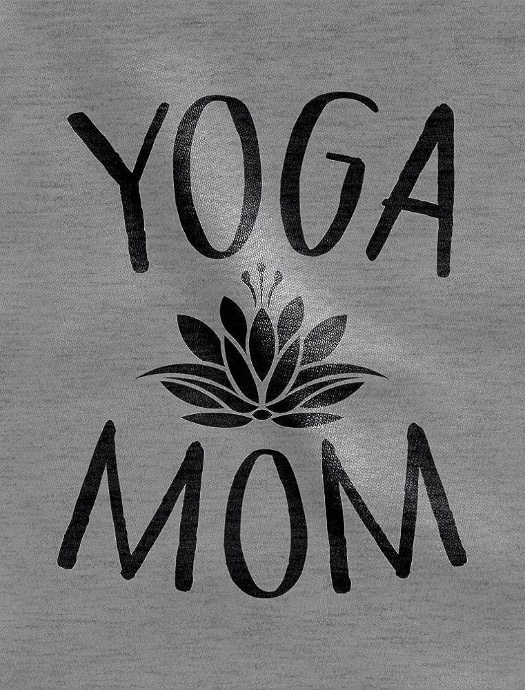 Sudadera Mujer - Yoga Mom - Idea Regalo Mamá Small Blanco ...