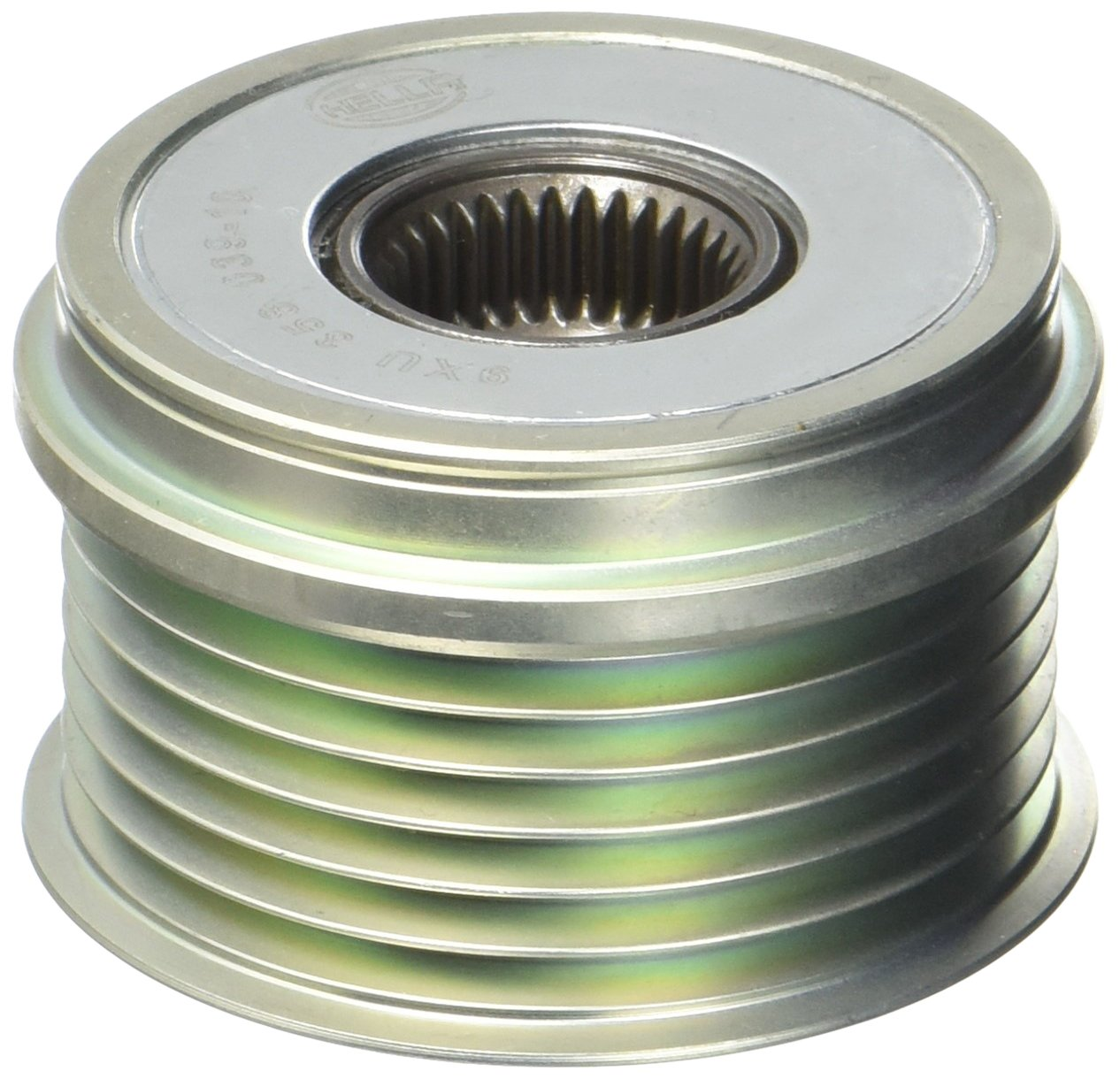 Thread Size: M16x1,5 Number of grooves: 6 HELLA 9XU 358 039-101 Alternator Freewheel Clutch Belt Pulley /Ø: 54mm