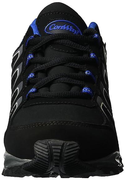 Conway 607433, Zapatillas Unisex Adulto, Negro (Schwarz/Royal), 44 EU
