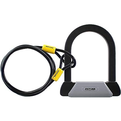 Amazon.com: SIGTUNA, candado para bicicleta, resistente de ...