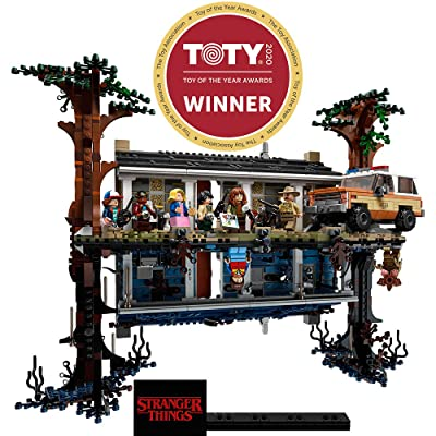 LEGO Stranger Things The Upside Down 75810 Building Kit (2,287 Pieces): Toys & Games