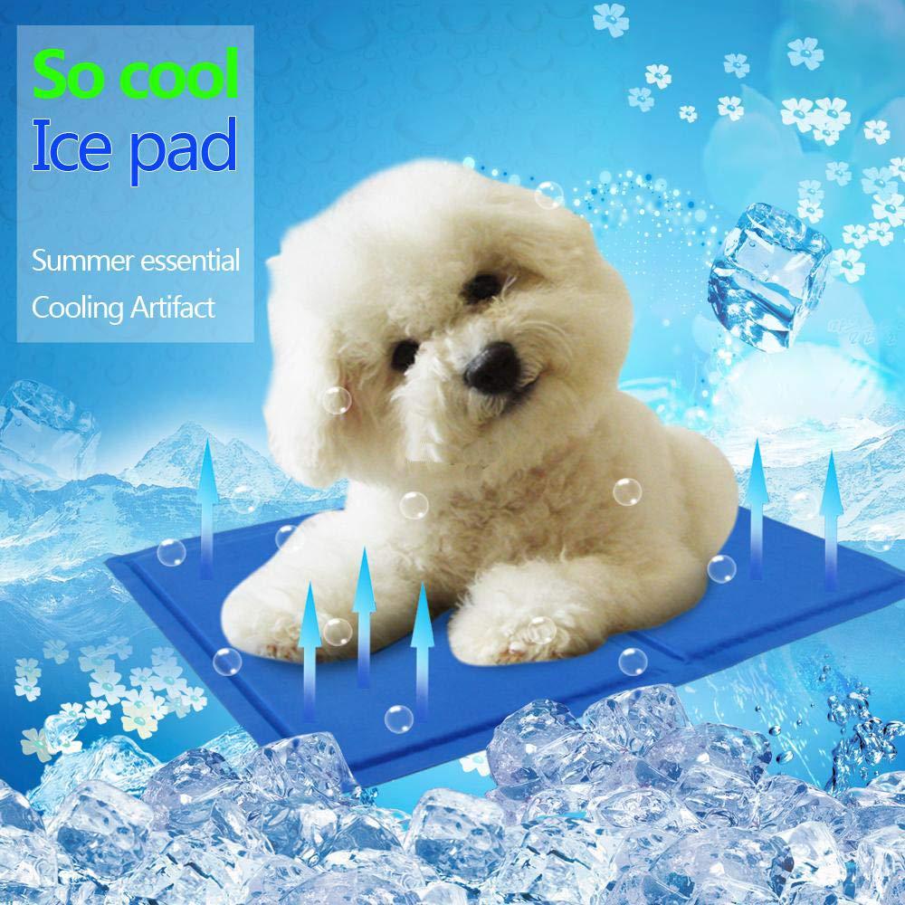 Kühlmatte Abkühlung für Hunde Katzen Kühlkissen Kühldecke Kühlakku Polster  zur in der Sommerhitze Tiere Kühldecke geeignet für Zuhause ...