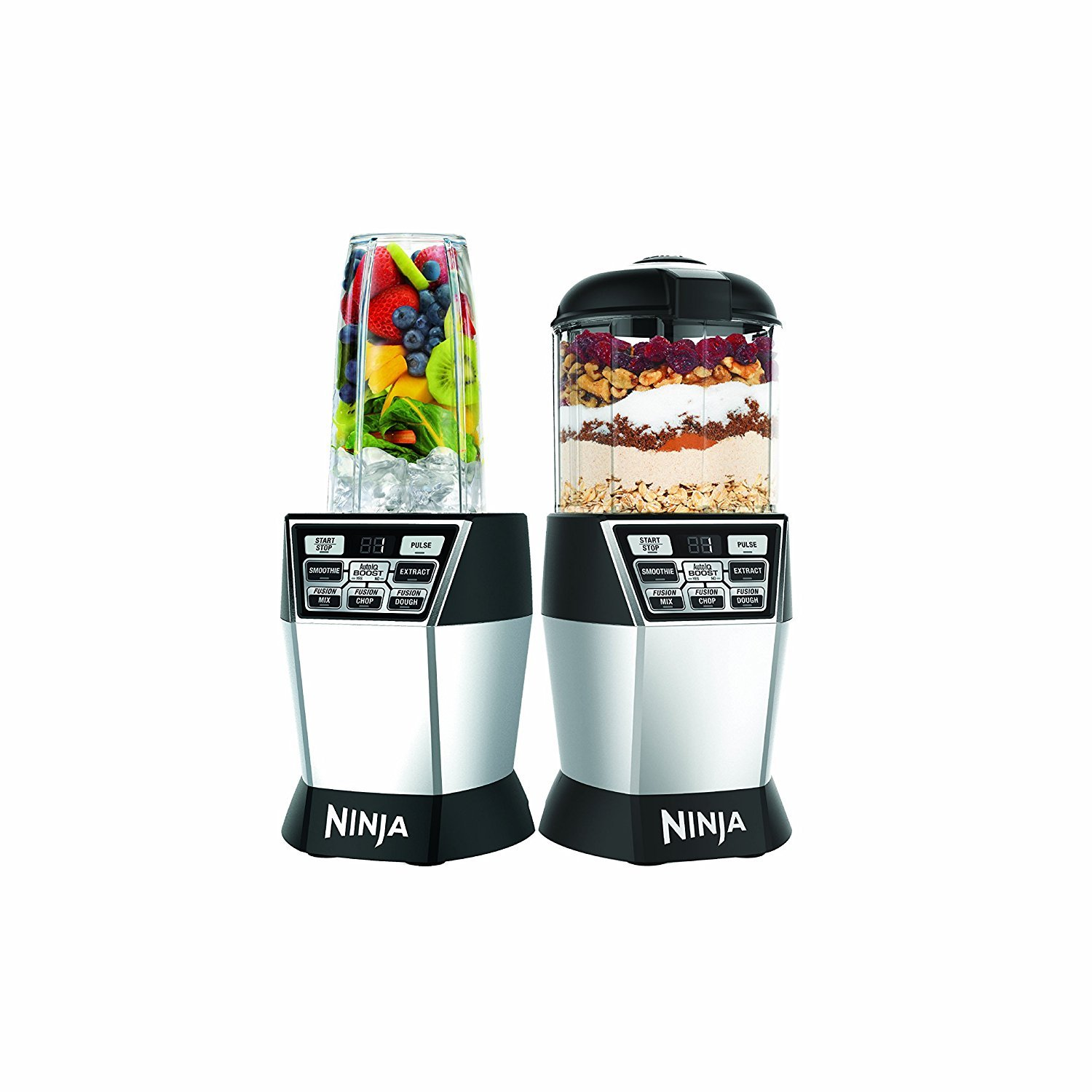 Nutri Ninja Nutri Bowl DUO with Auto-iQ Boost (NN102)