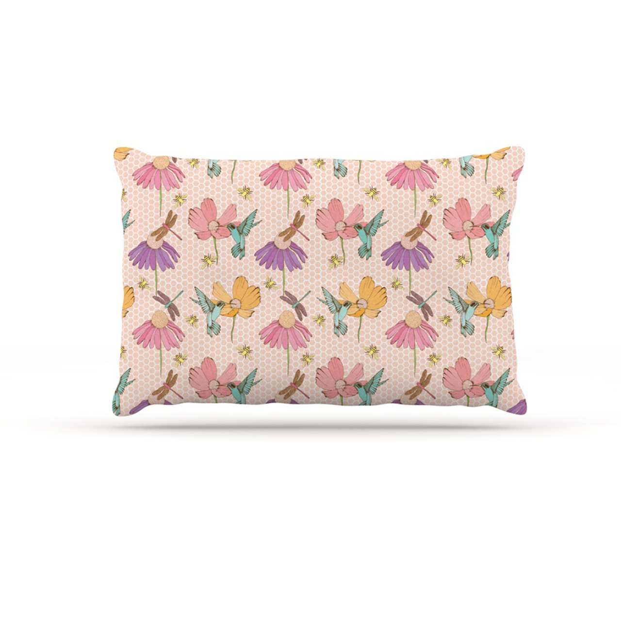 Large 30\ Kess InHouse Laura Escalante Magic Garden  Fleece Dog Bed, 30 by 40-Inch