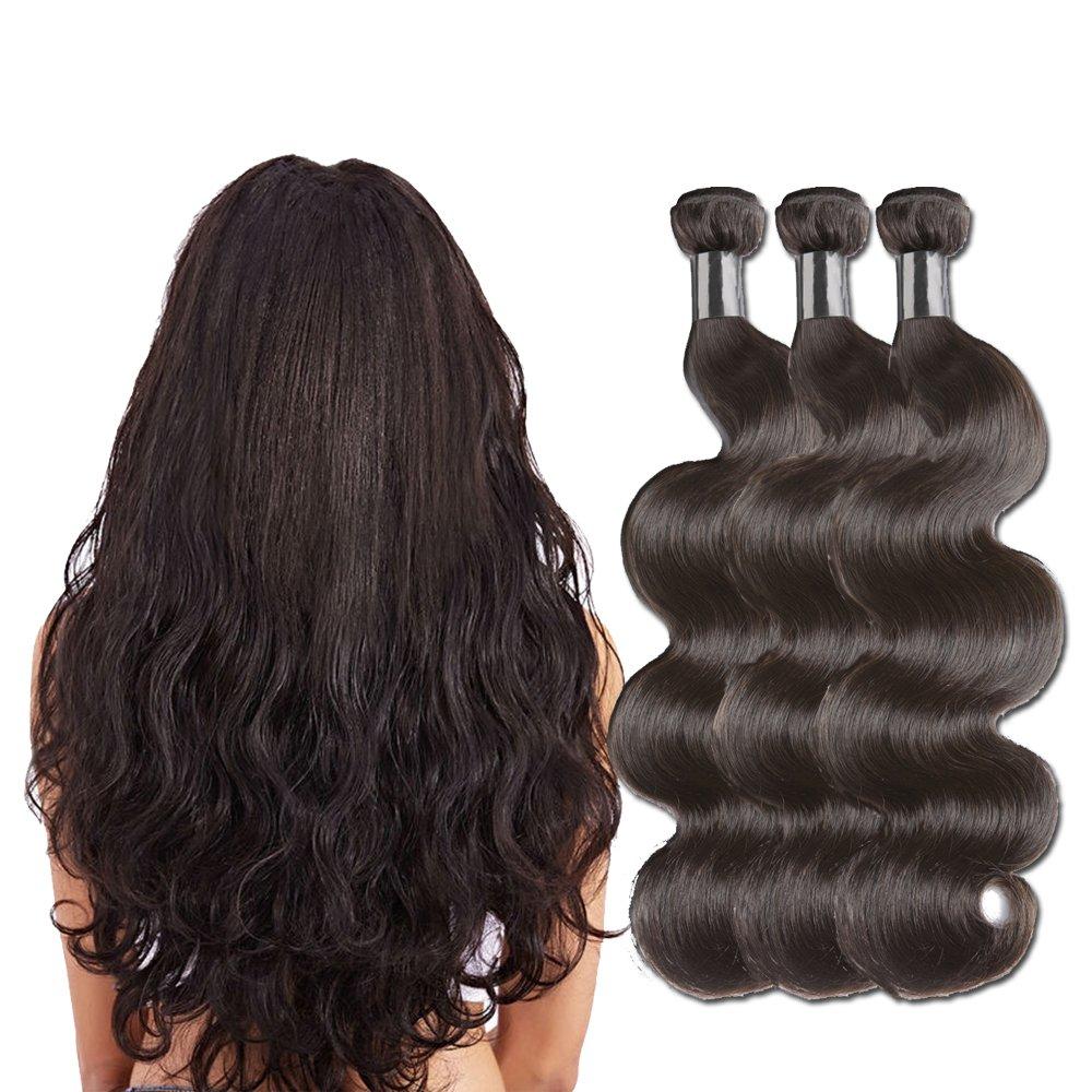 Amazon brazilian straight hair 3 bundles 8a grade borchan brazilian hair 3 bundles brazilian virgin hair body wave 8a grade 100 unprocessed virgin human pmusecretfo Images