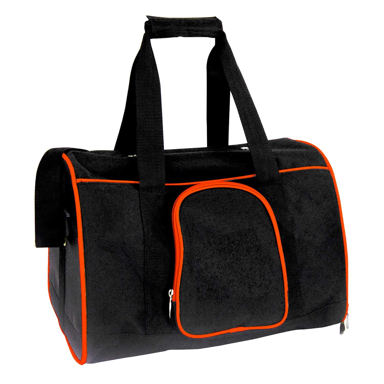 Orange Denco Premium Pet Carrier