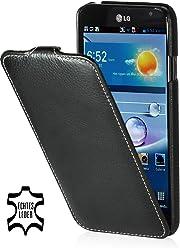 StilGut, UltraSlim, pochette exclusive pour le LG Optimus G Pro E988, en noir
