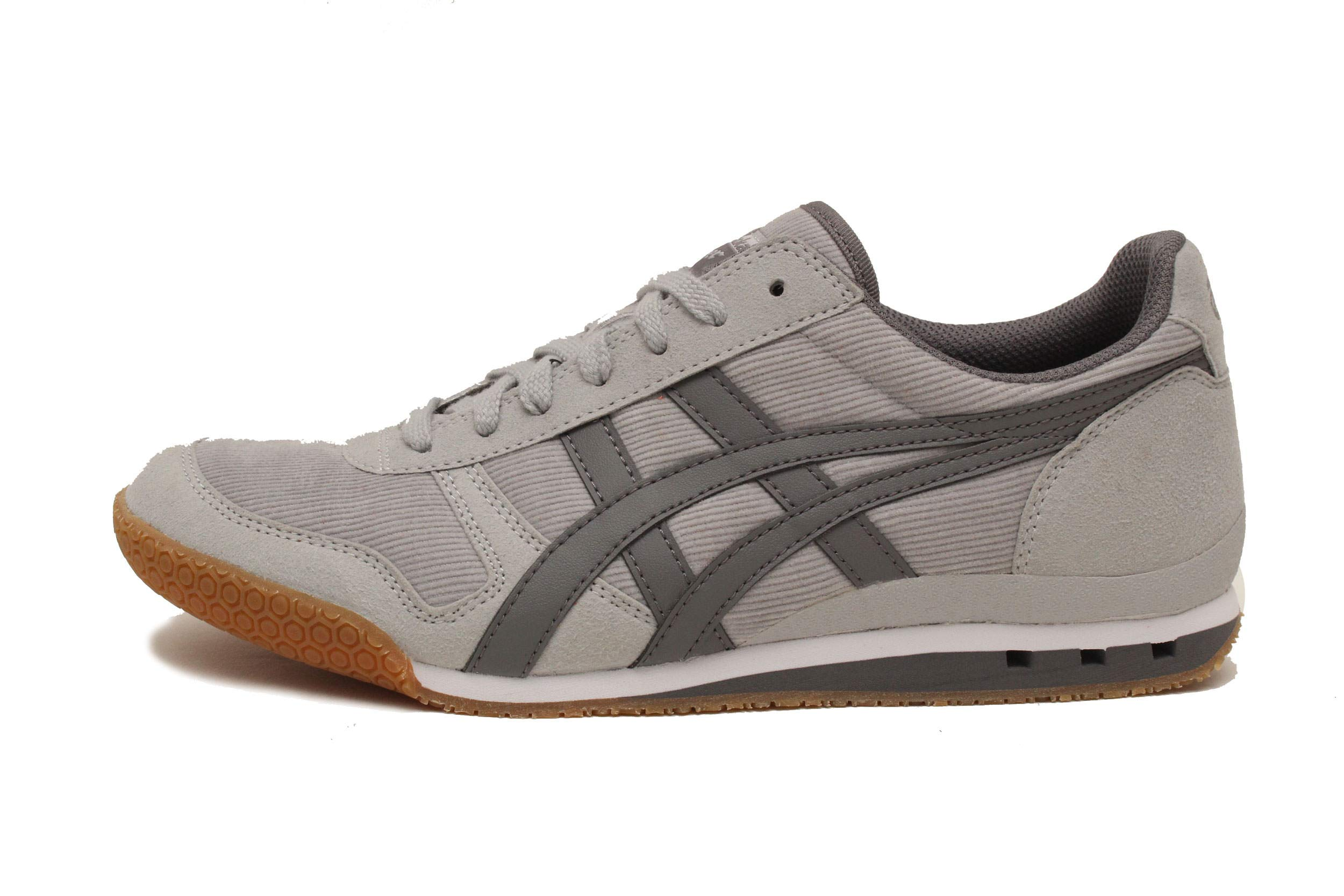 new style 37944 db38c Onitsuka Tiger by Asics Unisex Ultimate 81¿ Mid Grey/Carbon 10.5 Women / 9  Men M US