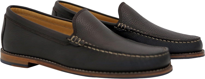 Austen Heller Mens Caldwells Brown Leather Loafer