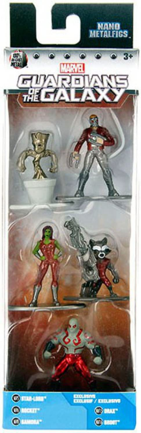 MARVEL Guardians of the Galaxy-Star-Lord-Sammelfigur in metallo 10 CM NUOVO
