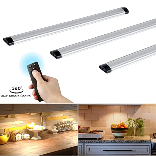dimmable under cabinet lights kitchen lighting with controller led rh amazon co uk Lighting Under Kitchen Cabinet Options Diagram Under Cabinet Lighting in Kitchen