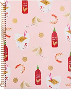 Sonix Stationery Take Out (Chinese Food) - Hardcover Spiral Notebook (140 pages)