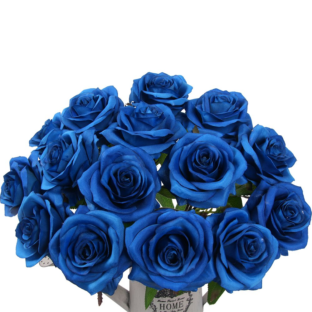 Amazon Artificial Flowers Amyhomie Silk Roses Bouquet Home