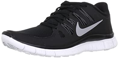 Nike Free 5.0+ Sz 5 Womens Running Shoes Black New In Box