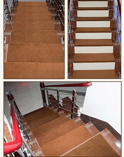 CZW RUG - Felpudo para Sala de Estar, no Adhesivo, Autoadhesivo, para Escalera, para el hogar, Escalera, Escalera, Alfombra de baño, 5 Unidades: Amazon.es: Hogar