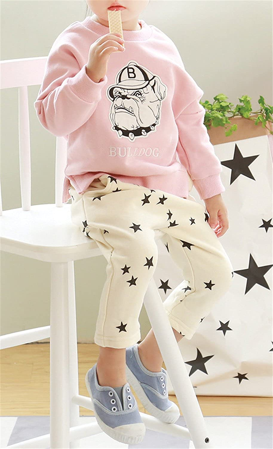 Betusline Little Girls Boys Fashion Casual Harem Pants