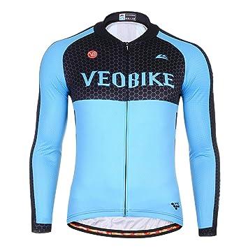 Beydodo Chaqueta Ciclismo Hombre Traje de Montar Invierno Al ...