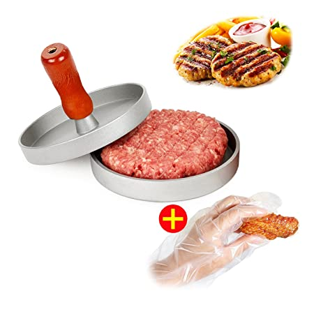 aidout hamburguesa prensa – Hamburger Patty Maker – antiadherente ...