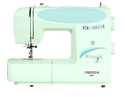Necchi N81 - Máquina de Coser (Máquina de Coser Manual, Blanco, Costura,
