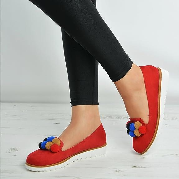 Cucu Fashion Sandali Donna, Rosso (Rosso), 36.5