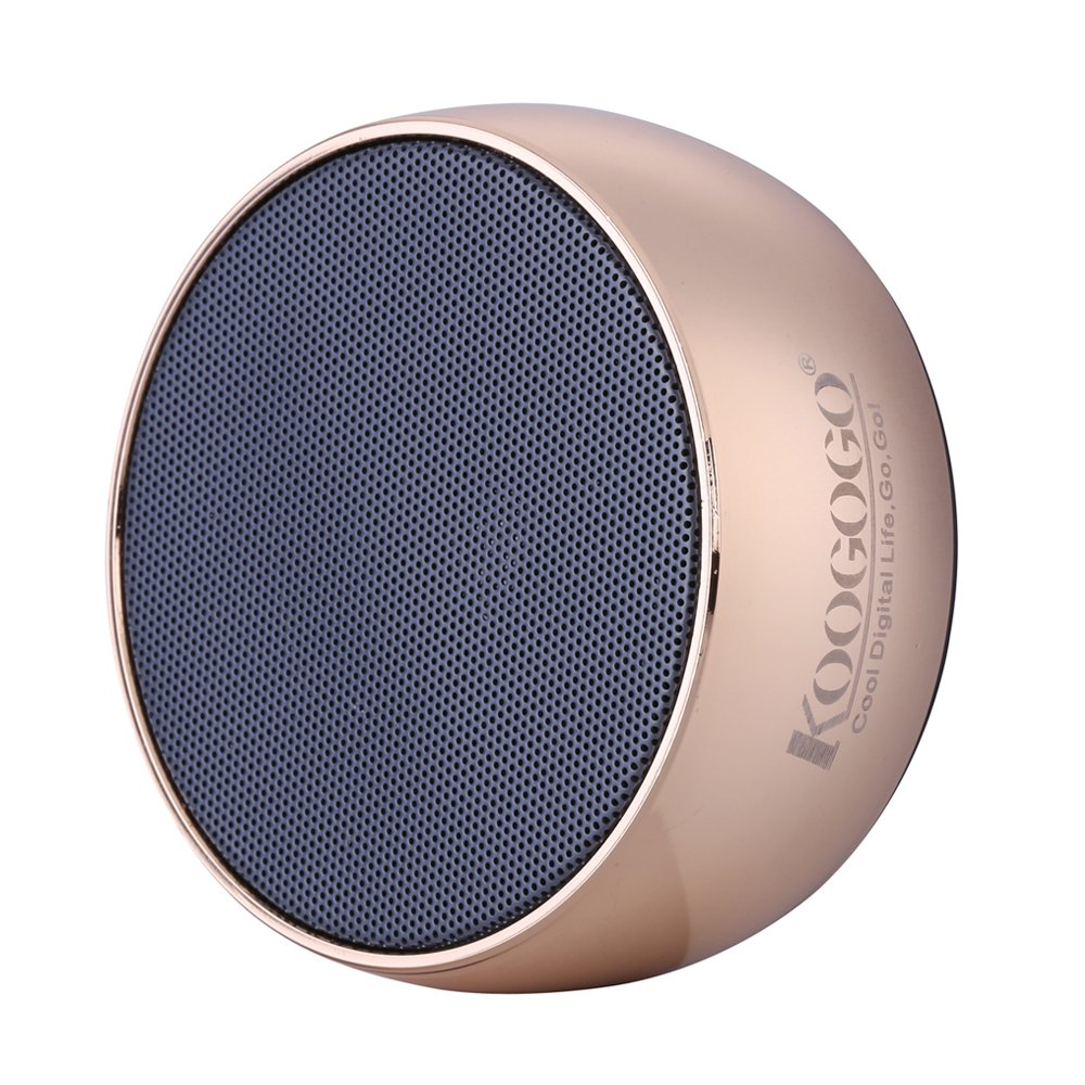KOOGOGO BS01 Wireless Bluetooth Speaker, Metal Case Powerful