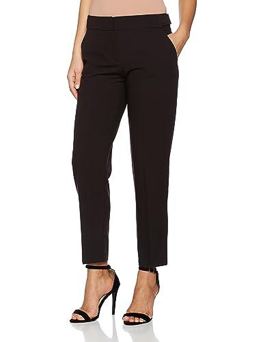Dorothy Perkins Side Tab Ankle Grazer, Pantalones para Mujer