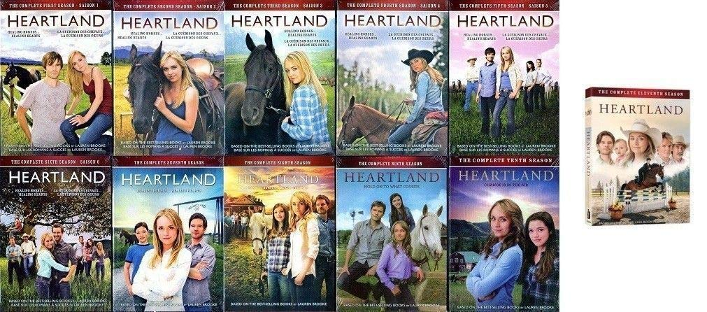 Heartland: Seasons 1-11 Complete Series DVD