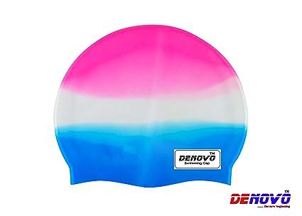 DeNovo Imported Multicolor Swimming Cap Swimming