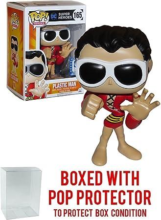 Super Heroes Funko Pop! DC Legion of Collectors - Plastic Man #165 Vinyl Figure Bundled with Free Pop Box Protector Case: Amazon.es: Juguetes y juegos
