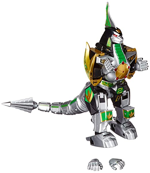 Bandai Power Rangers Legacy Dragonzord Action & Toy Figures at amazon