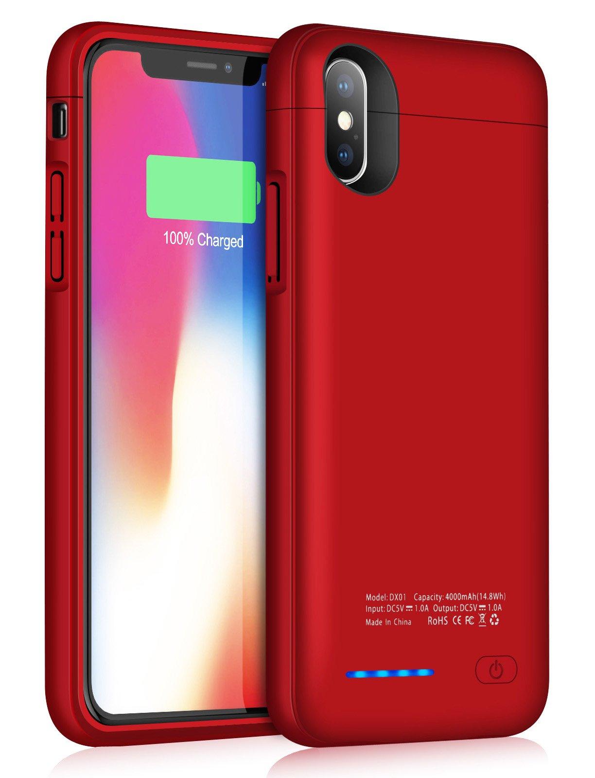 Funda Con Bateria de 4000mah para Apple Iphone X/Xs JUBOTY [7D7PL5Y7]