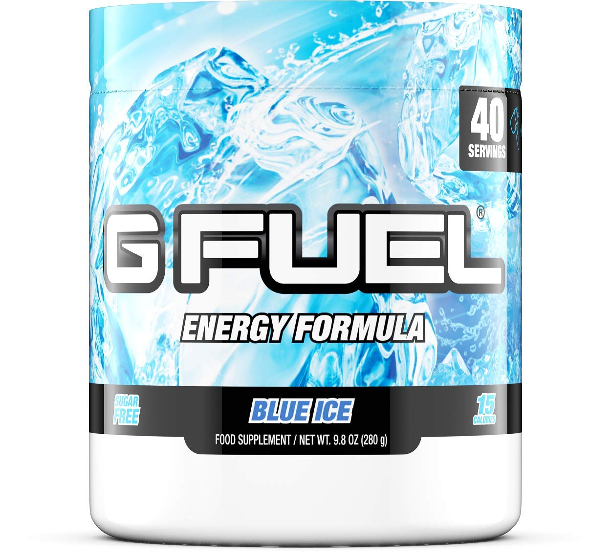 G Fuel Blue Ice Tub (40 Servings) Elite Energy and Endurance Eu Formula