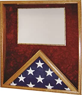 product image for All American Gifts 3x5 Flag & Certificate Display Case (Red Velvet)