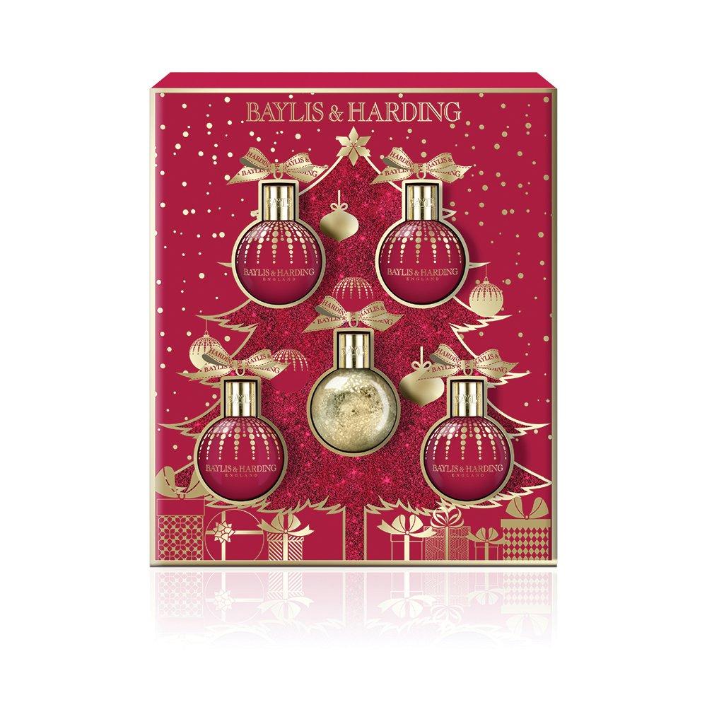 Baylis & Harding Midnight FIG & Pomegranate festività natalizie di set BM18MP5BAUBLE