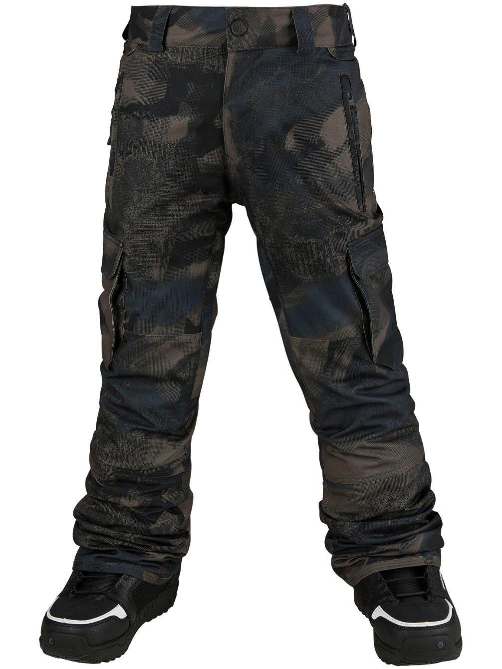 Volcom Big Boys' Cargo Insulated Pant, Camouflage, M by Volcom