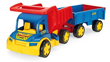 Wader Giant Truck and Trailer B00IQP0WEA