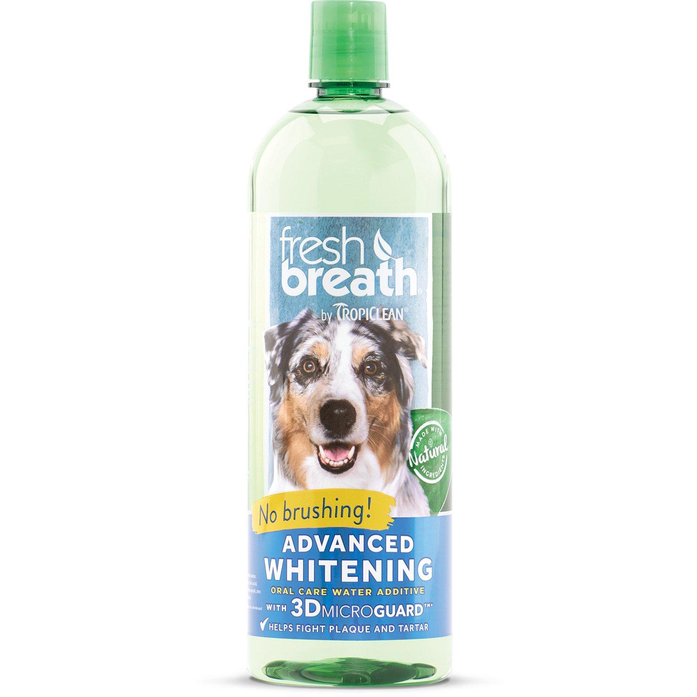 Fresh Breath Advanced Whitening Water Additive, 33.8oz