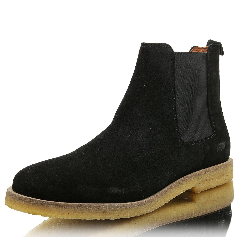 SHOOT SHM21800148 Herren Stiefelette Chelsea Boots Black