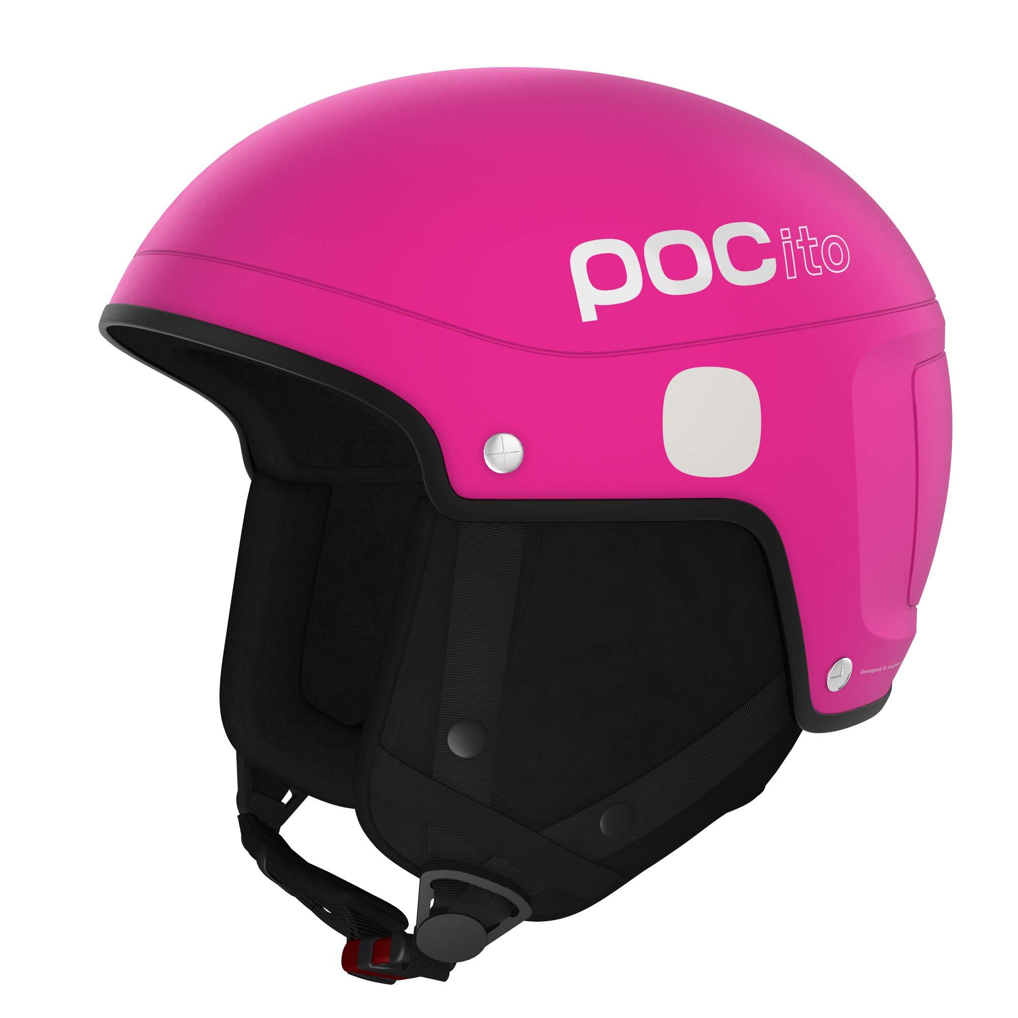 POC POCito Skull Light, Children's Helmet, Fluorescent Pink, XS/S