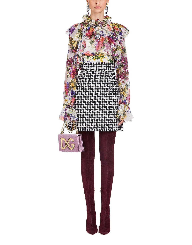 Dolce & Gabbana Mujer F72p3ths1uihap97 Seda Blouse: Amazon.es: Ropa y accesorios