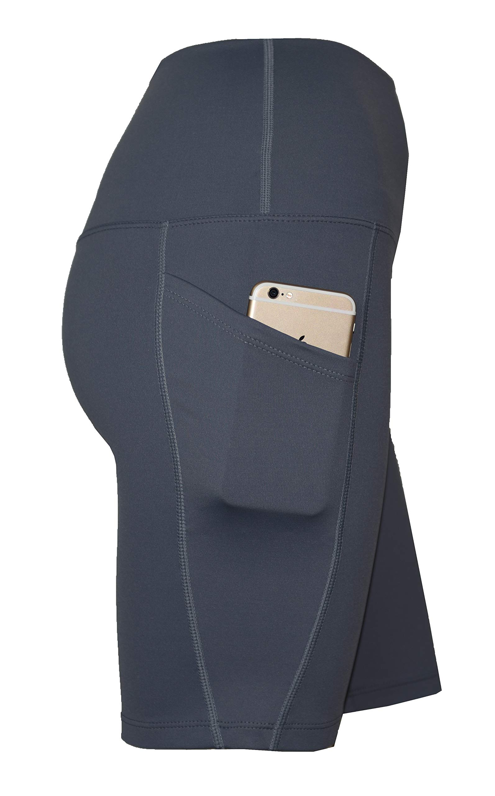 Private Island Women UV Swim Rash Guard Board Shorts Pants Yoga (XL, Grey) by Private Island