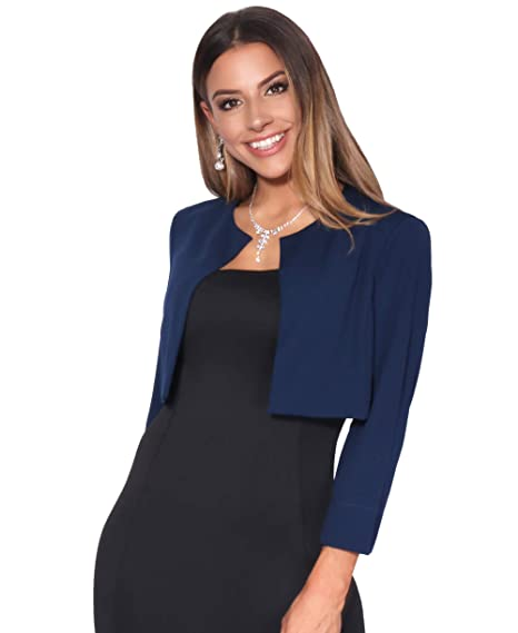 Veste bleu royal femme