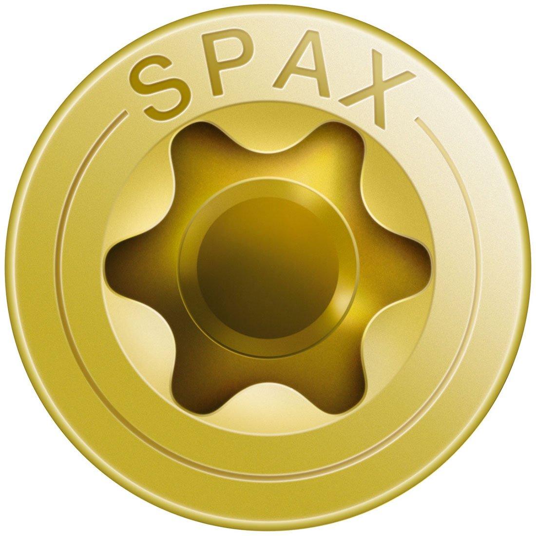 t/ête frais/ée 4CUT /0191020350303 Spax/ T-STAR plus filetage complet jaune galvanis/é passiv/é A2L 191020500703 Vis universelle