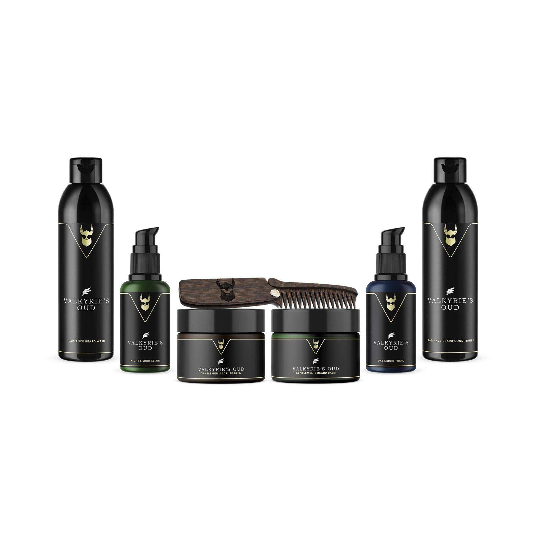 The Beard Struggle Ultimate Kit Viking Honour for Men & Beard Care W/Beard Wash/Shampoo/Conditioner/Night oil/Day oil,100% Natural & Organic