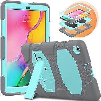 Timecity Samsung Galaxy Tab A 10.1 (2019) SM-T510 / T515 Fundas con Soporte, [Heavy Duty] A Prueba de Polvo, Protección híbrida Resistente para Galaxy Tab A 10.1 Pulgadas: Amazon.es: Electrónica